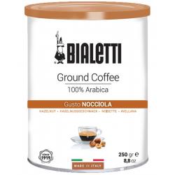 BIALETTI CAFFE Gusto Nocciola Kawa mielona o smaku orzechowym 250g, 100% Arabica