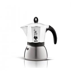 BIALETTI Moka Induction biała kawiarka aluminiowo stalowa 3tz