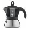BIALETTI Moka Induction czarna kawiarka aluminiowo stalowa 6tz