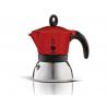 BIALETTI Moka Induction czerwona kawiarka aluminiowo stalowa 6tz