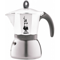 BIALETTI Moka Induction biała kawiarka aluminiowo stalowa 6tz