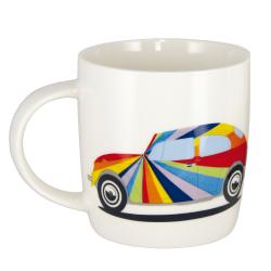 VW Porcelanowy kubek BEETLE STRIPES