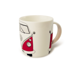 VW Porcelanowy kubek BUS RED
