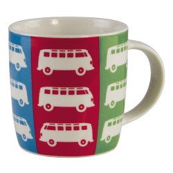 VW Porcelanowy kubek BUS COLORS