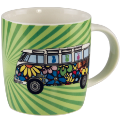 VW Porcelanowy kubek LOVE BUS