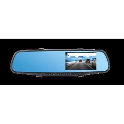 Peiying Lusterko samochodowe z rejestratorem i kamerą cofania