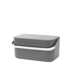 BRABANTIA Pojemnik, kosz na odpady organiczne 1,8l - ciemnoszary