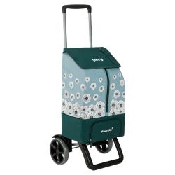 GIMI KANGOO THERMO wózek zakupowy z przegrodą termiczną 13l Green