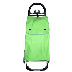 Aurora by Casabriko KANGURO zielony wózek na zakupy z aluminium 50l