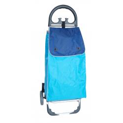 Aurora by Casabriko KANGURO niebieski wózek na zakupy z aluminium 50l