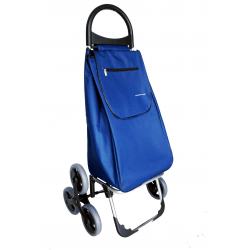 Aurora by Casabriko KOALA granat wózek na zakupy aluminium 50l, 6 kół