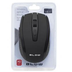 BLOW Mysz optyczna bezprzewodowa MB-11 czarna