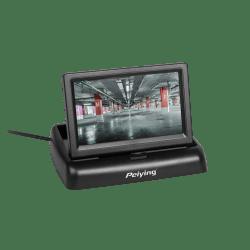 """Peiying Monitor samochodowy 4,3"""" do kamery cofania 9-32V"""