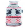 Fashy Termofor w zimowym sweterku renifer - 2l
