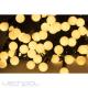 Diodowe, LED, lampki choinkowe ozdobne, białe ciepłe - 10mb ze sterownikiem