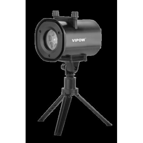 VIPOW Projektor LED z wymiennymi slajdami (4 wzory)