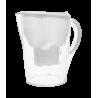 TEESA Dzbanek filtrujący biały 3,5l, elektroniczny wskaźnik