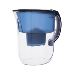 TEESA Dzbanek filtrujący niebieski 3,8l, elektroniczny wskaźnik