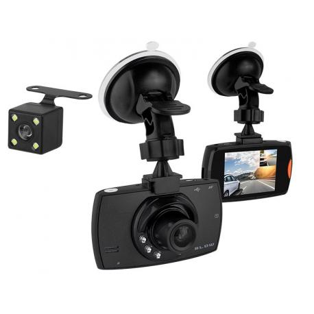 BLOW Rejestrator video BLACKBOX DVR F480 2 kamery