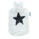 Fashy Termofor 2l w delikatnym pluszowym pokrowcu z gwiazdą