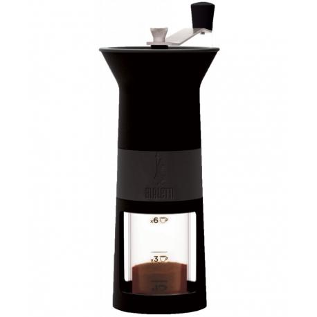 BIALETTI ręczny młynek do kawy - czarny