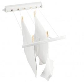 Brabantia 385728 - rozciągana ścienna suszarka łazienkowa Pull-out biała- 22m