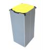 ARTEX Ecokube 1 żółty - stojak, stelaż na worki 1x120l z obudową