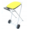 ARTEX Move&Up 1 wózek na worki, pokrywa żółta