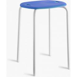 ARTEX KEEN niebieski stołeczek, taboret
