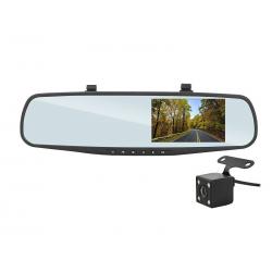 Lusterko samochodowe z rejestratorem FULL HD i kamerą cofania