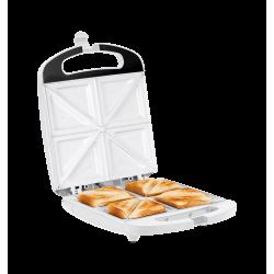 Opiekacz do kanapek z ceramicznymi wkładami na 4 kanapki