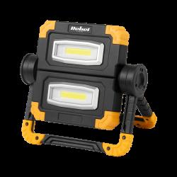 Reflektor akumulatorowy REBEL 20W z kablem USB 6500K