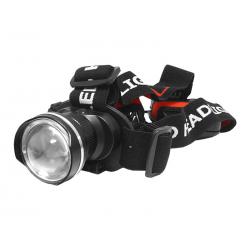 Latarka czołowa 1-LED 9W TS-1102 z zoom