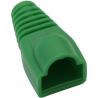 Osłona gumowa zielona wtyk RJ45 8p8c - 10szt