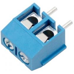 Listwa montażowa 2x (ARK) niebieska
