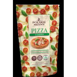 PIZZA ciasto mieszanka do wypieku 2 pizz - 0,5kg, Polskie Młyny