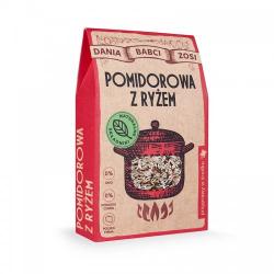 Zupa pomidorowa z ryżem - Dania Babci Zosi