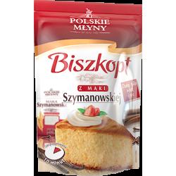 Mieszanka do wypieku biszkoptu z mąki Szymanowskiej Polskie Młyny
