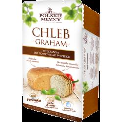 Chleb graham do domowego wypieku w foremce 0,3kg, Polskie Młyny