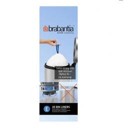 Brabantia, worki plastikowe - rozmiar E 20l