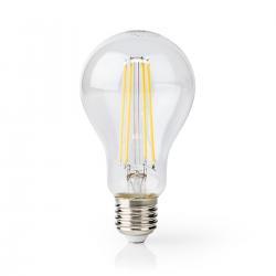 Nedis Lampa LED Vintage żarówka z żarnikiem E27 A70 12 W 1521lm 2700K