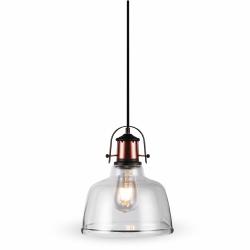 V-TAC Lampa wisząca VT-7220-T szkło + metal E27 220x280x1150mm
