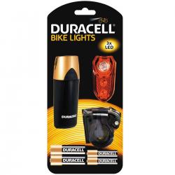 Duracell Lampka rowerowa LED M02 przednia i tylna zestaw