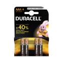DURACELL Bateria Alkaliczna Basic LR03 AAA 4 szt blister