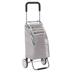 GIMI składany wózek / torba zakupowa Flexi srebrna