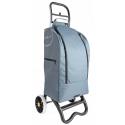 Casa si Partner wózek z torbą termiczną na zakupy szary