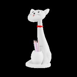 Lampka na biurko w kształcie kota, dziecinna REBEL