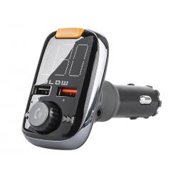 Transmiter FM BLOW BT zestaw głośnomówiący + Super BASS + QC3.0