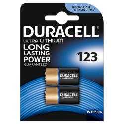 Bateria litowa 3V CR123 DURACELL ultra - 2szt