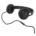 Słuchawki z mikrofonem SERENADE EH211K (czarne)